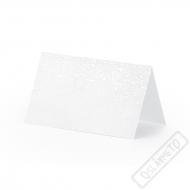 Papírové jmenovky na stůl Pearl