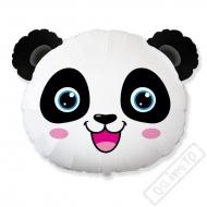 Nafukovací balón fóliový Panda hlava 70cm