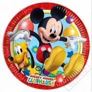 Papírové party talíře Mickey Mouse