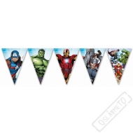 Party girlanda vlajky Avengers