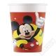 Papírové party kelímky Mickey Mouse