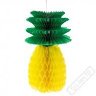 Závěsná papírová dekorace Ananas