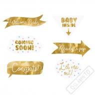 Rekvizity na focení Baby Shower