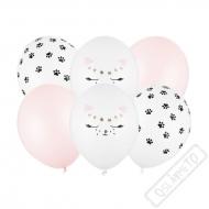 Latexové balónky s potiskem Kočka