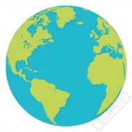 Papírové party ubrousky Planeta Země