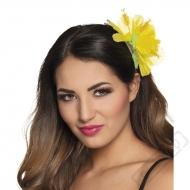 Havajská květina do vlasů Ibišek žlutý