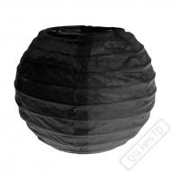 Dekorační papírový lampion XS černý