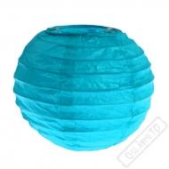 Dekorační papírový lampion XS modrý
