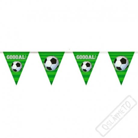 Party girlanda vlajky Fotbal
