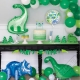 Papírová girlanda Dino Party Time