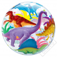 Nafukovací balón bublina Dinosauři 56cm
