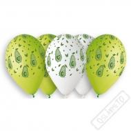 Latexové balónky s potiskem Avokádo