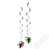 Závěsná spirálová dekorace Tukan