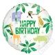 Nafukovací narozeninový balónek Safari 45cm