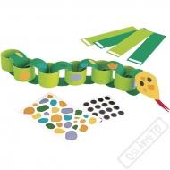 Tvořivá sada pro děti na výrobu hadů