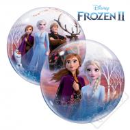 Nafukovací balón bublina Frozen II 56cm