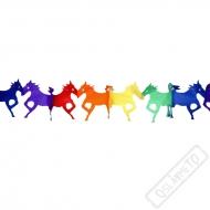Papírová party girlanda Kůň