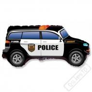 Nafukovací balón fóliový Policejní SUV 80cm