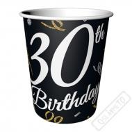 Papírové party kelímky k 30. narozeninám