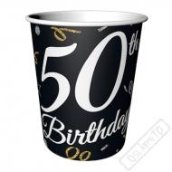 Papírové party kelímky k 50. narozeninám