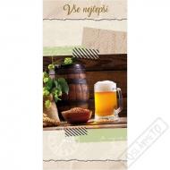 Blahopřání Soudek a pivo