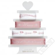 Svatební dekorační stuhy Romance