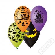 Latexové balónky s potiskem Halloween