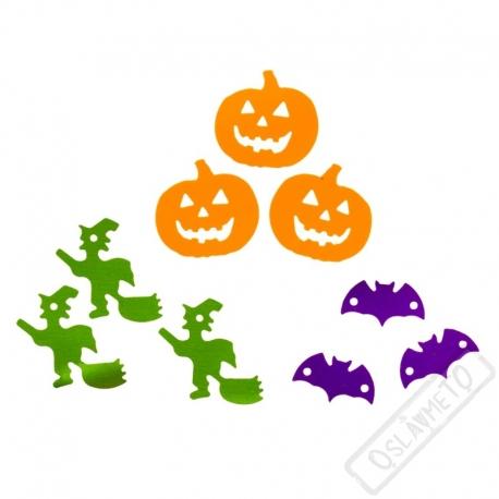 Dekorační konfety na stůl Halloween