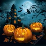 Papírové party ubrousky Halloween
