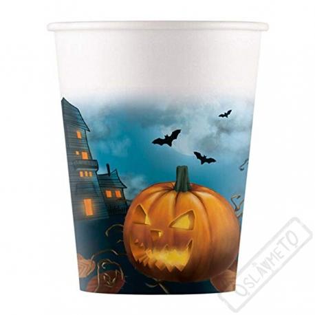 Papírové party kelímky Halloween