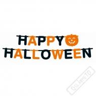 Papírový nápis Happy Halloween
